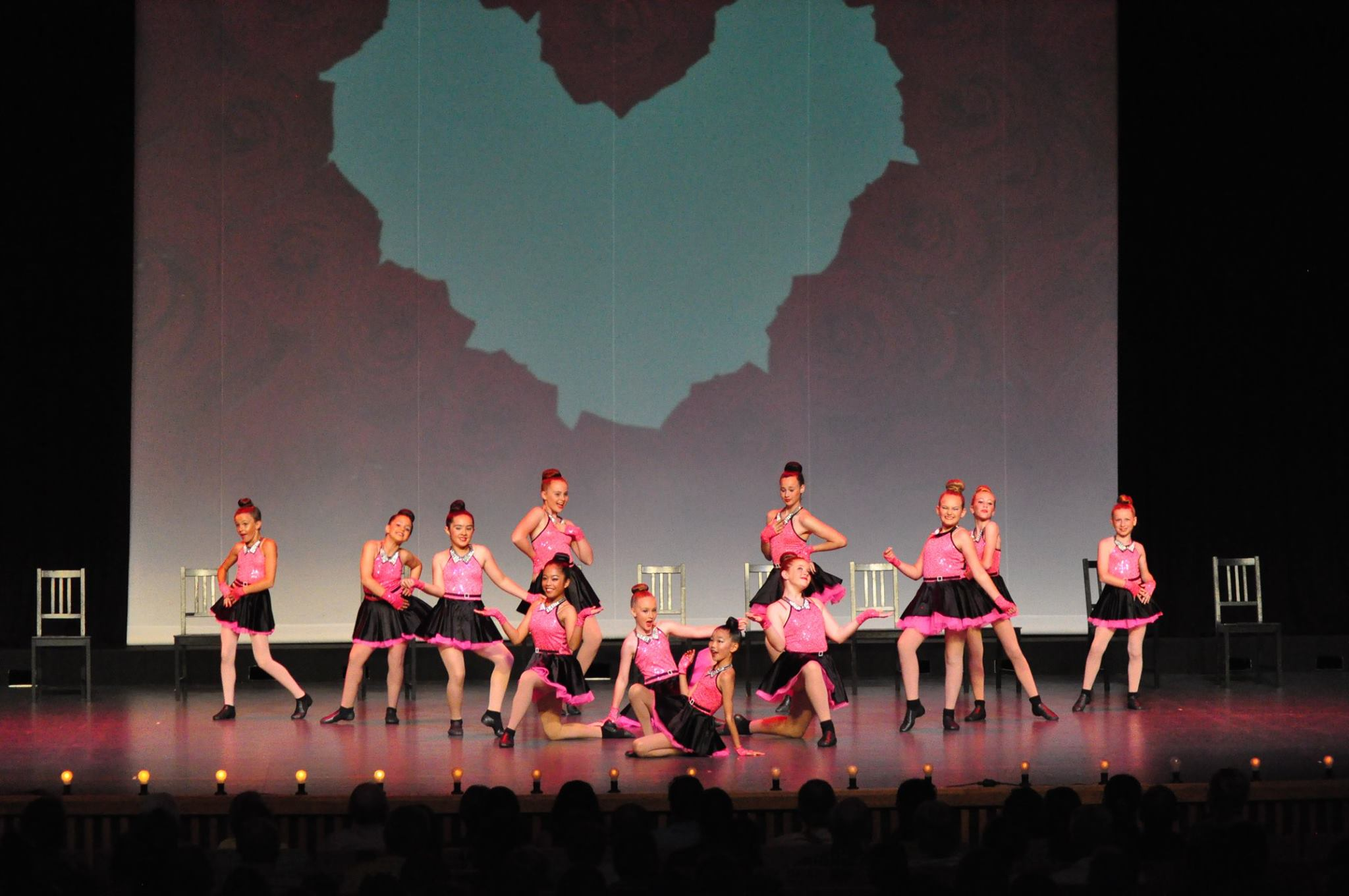 showcase dance team